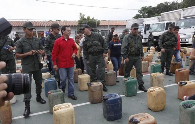 Militares contrabando