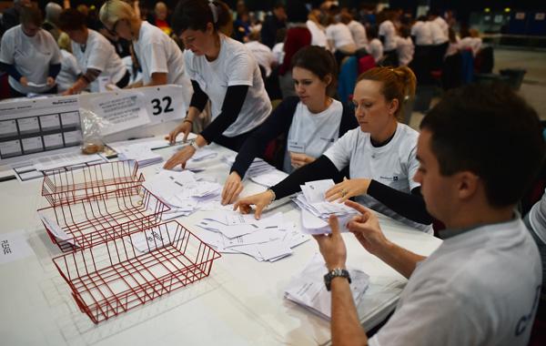 Referéndum en Escocia / foto AFP