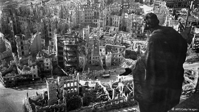 Berlin destruida