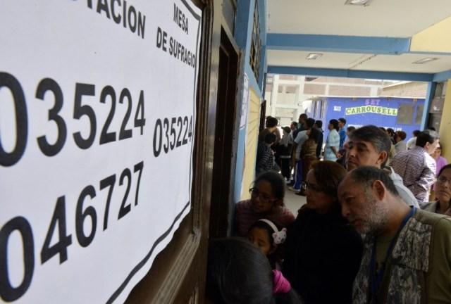 PERU-ELECTIONS