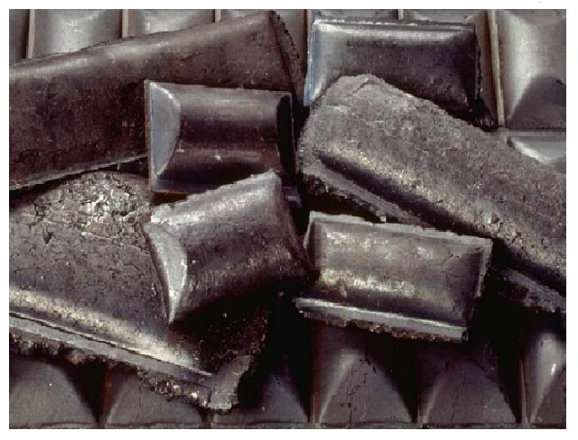 En Venezuela algunas plantas producen briquetas a partir de las pellas de hierro