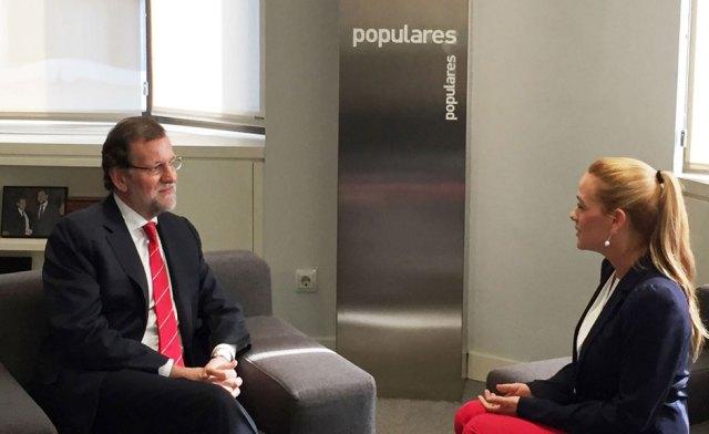 Rajoy recibió a Lilian Tintori en Madrid
