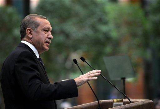 Foto: El presidente Recep Tayyip Erdogan en Estambul / AP
