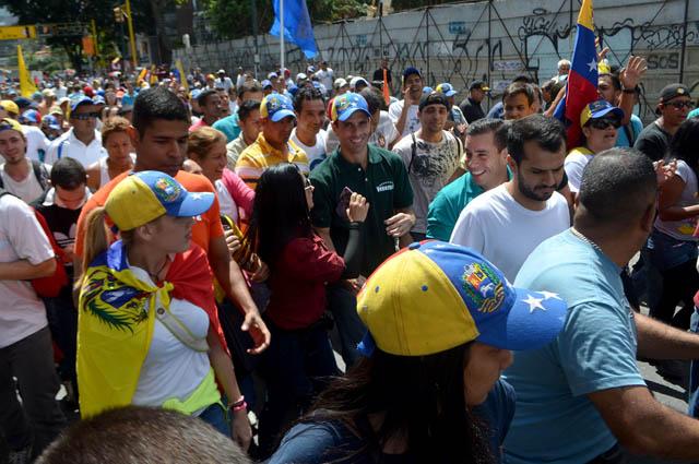 Henrique Capriles-marcha24Enero (1)