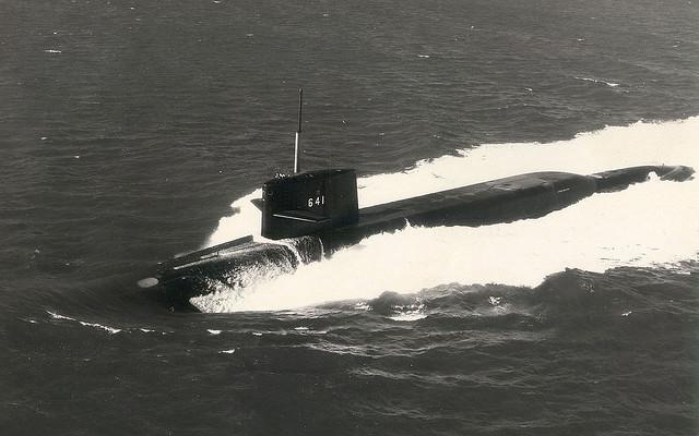 Submarino nuclear Simón Bolívar SSBN 641 de la Armada de EE.UU.