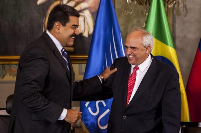 Nicolás Maduro y Ernesto Samper / Foto archivo