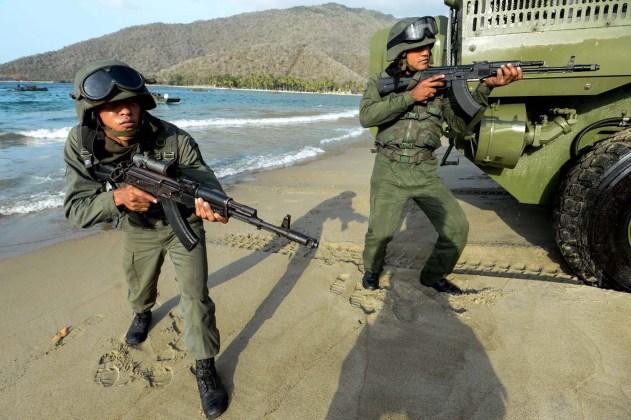 VENEZUELA-US-MILITARY-ARMY
