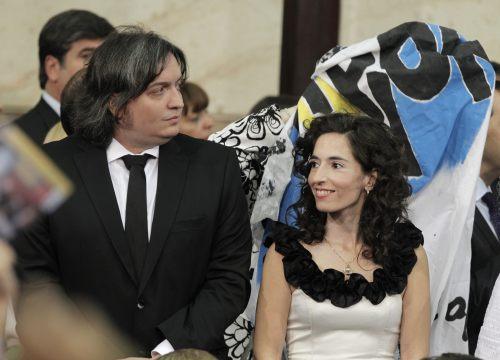 Foto: Maximo Kirchner, el hijo de la presidenta Cristina Fernández / EFE
