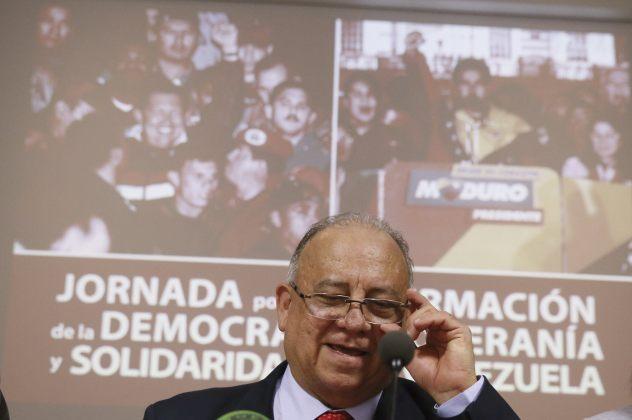 Mario Isea, embajador de Venezuela en España (Foto archivo EFE)