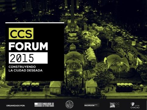 Foto: CCS Forum para el desarrollo sostenible / Nota de prensa