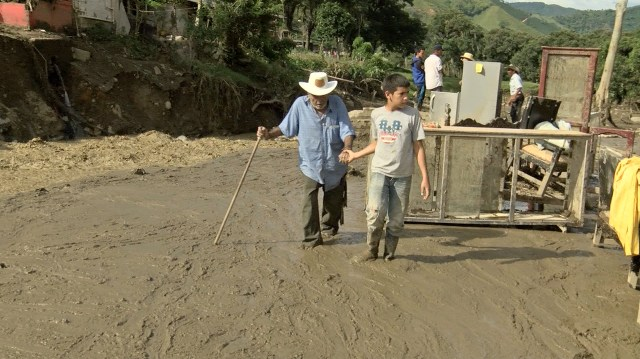 Deslave Colombia