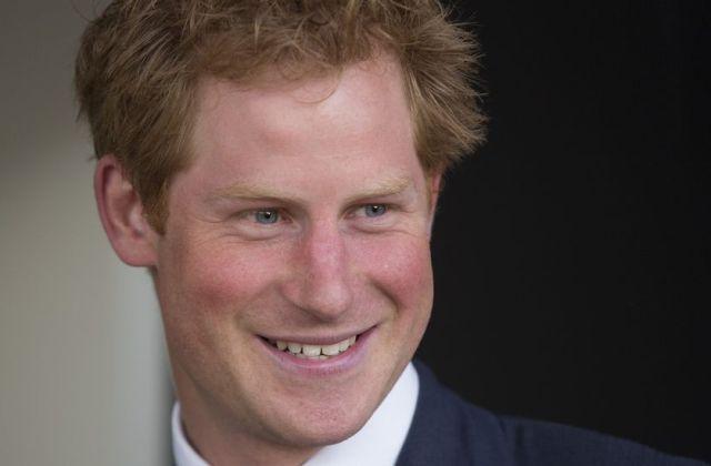El Príncipe Enrique de Inglaterra