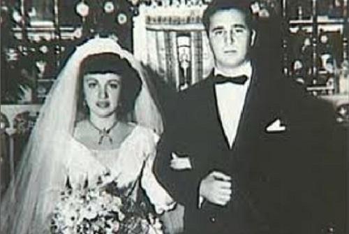 Fidel Castro en su matrimonio con Mirta Francisca de la Caridad Díaz Balart en 1948