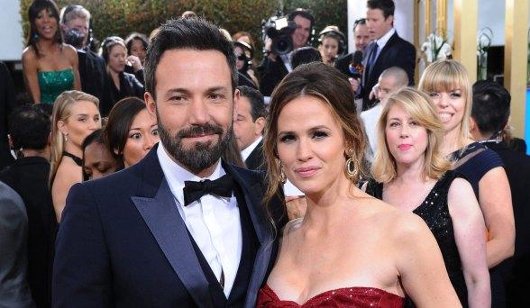 Jennifer Garner y esposo
