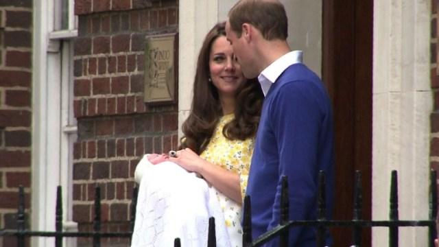 Kate Middleton y william - La foto inédita de Louis, hijo menor de William y Kate Middleton, enviada a sus admiradores