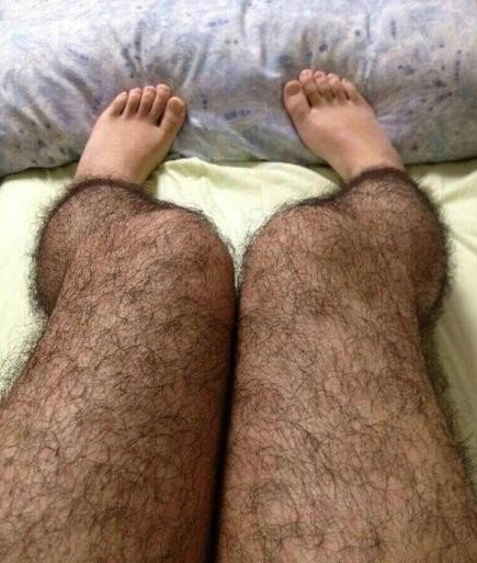 leggings peludos