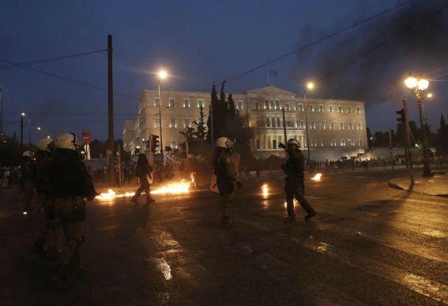 Grecia protestaPortada