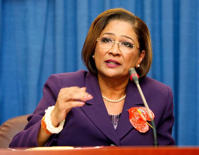Kamla Persad-Bissessar, Primer Ministro de Trinidad y Tobago / FT
