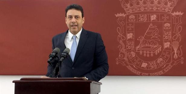 Foto: El secretario de la Gobernación de Puerto Rico, Víctor Suárez / EFE