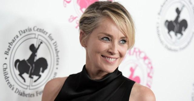 """sharon stone - Sharon Stone confesó que un productor la presionó para que se acostara con un coprotagonista de """"Bajos Instintos"""""""