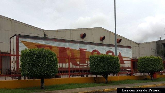 Fachada de Friosa, en Bolívar. FOTOGRAFÍA: WILLIAM URDANETA