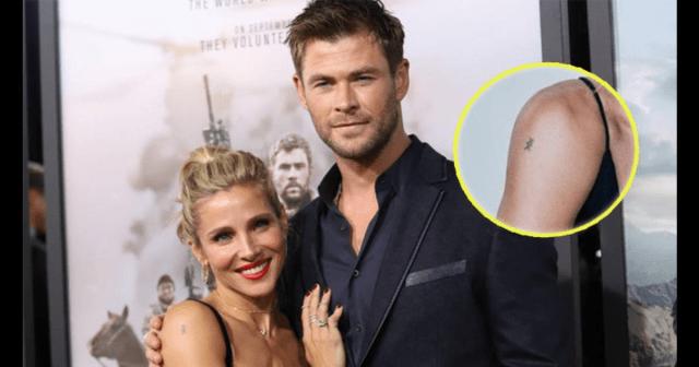 Elsa Pataky tatuaje - Elsa Pataky se tatuó una runa nórdica 10 años antes de conocer a su esposo... Thor (foto)