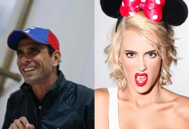 Caprilles Valeria Valle - ¡DIVINA! Las fotos sexuales de Valeria Valle, el nuevo interés amoroso de Henrique Capriles