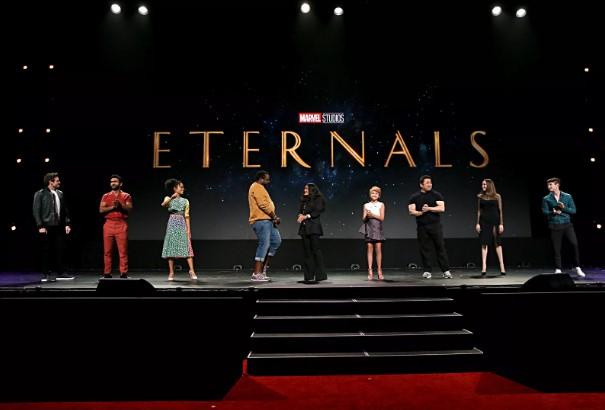 """eternals - Filtran el aspecto de dos superhéroes de la nueva película """"Eternals"""" - #Noticias"""