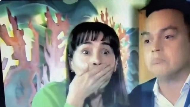 BC2E7306 D6C3 4851 A9FC D97AF4383FF7 - A actriz de Caracol TV se le cayó un diente en plena entrevista (VIDEO) - #Noticias