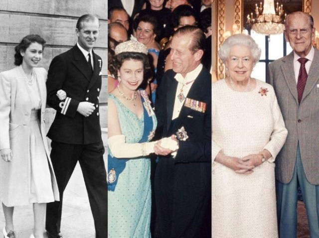 isabel felipe - La reina Isabel II y Felipe celebran 73 años de casados