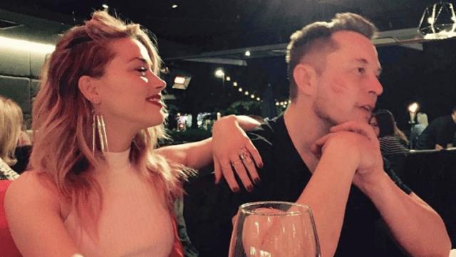 Amber Heard y Elon Musk - Amber Heard afirmó que Johnny Depp tiró a Kate Moss por las escaleras cuando salían