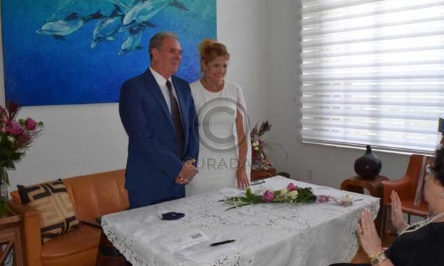C1F04B69 5017 4086 93CD 194CFB03A3F7 - Revelaron fotos de la misteriosa boda de la actriz venezolana Belén Marrero