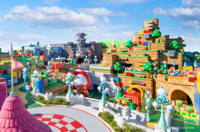 mario - Así será el espectacular parque temático de Súper Mario en Japón