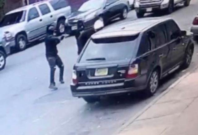 Beanz Nueva Jersey - Grabaron el momento en el que mataron al rapero Tripple Beanz a plena luz del día
