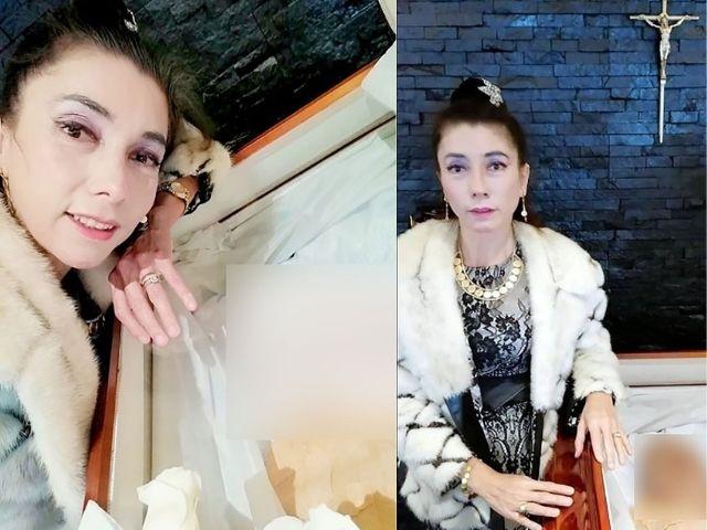 Bella de la Vega 2 - La viuda del padre de Gael García publicó fotos junto al cadáver ...y desató indignación