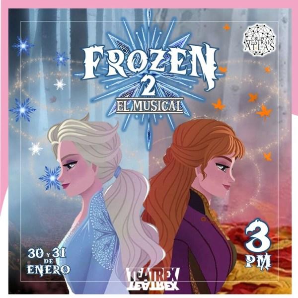 """WhatsApp Image 2021 01 27 at 4.02.12 PM - Siguiendo las medidas de bioseguridad: """"Frozen 2: El Musical"""" se prepara para regresar al teatro"""