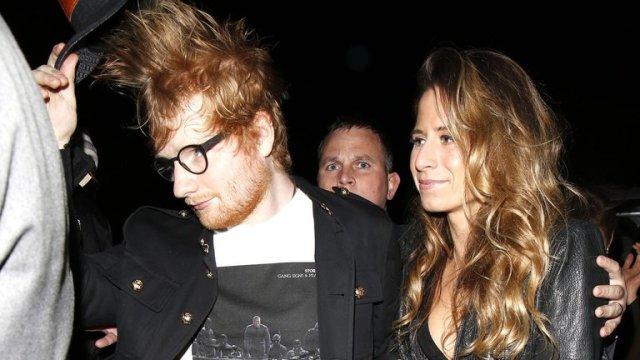 ed sheeran y su esposa - Los crudos relatos de estrellas del cine y la música que superaron su adicción a las drogas