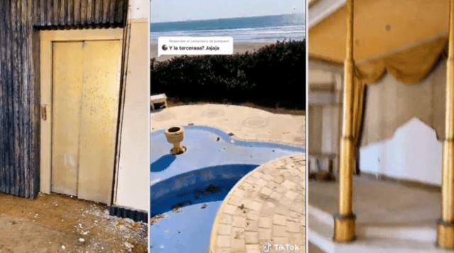 luis miguel casa 3 - Las ruinas de la casa abandonada de Luis Miguel en Acapulco (VIDEO)
