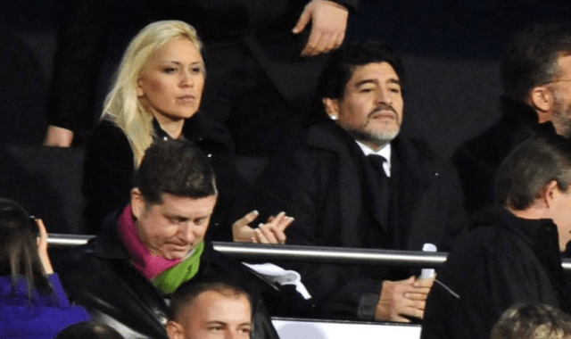 maradona y Veronica Ojeda - El lujoso regalo que Putin le obsequió a una antigua novia de Maradona