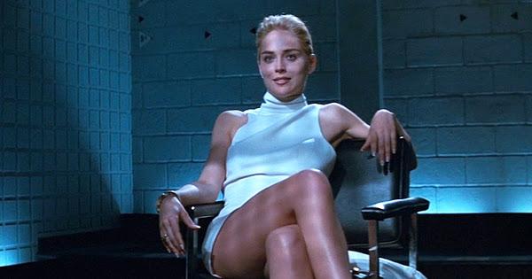 """sharon stone basic instinct - Sharon Stone confesó que un productor la presionó para que se acostara con un coprotagonista de """"Bajos Instintos"""""""