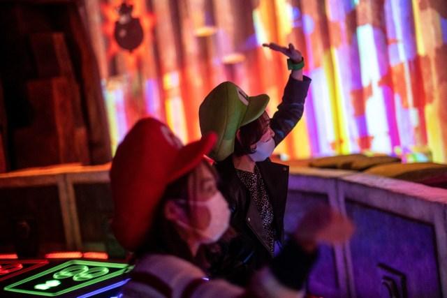 000 96696E - Abre en Japón el primer parque temático de Nintendo (FOTOS)