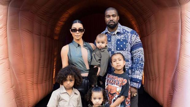 Kanye West y Kim Kardashian hijos - La insólita razón por la que Kanye West no respondió al pedido de divorcio de Kim Kardashian