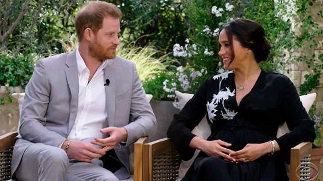 Meghan Markle y el principe Harry - Tras la polémica entrevista de Meghan Markle y el príncipe Harry... Twitter reaccionó con geniales memes