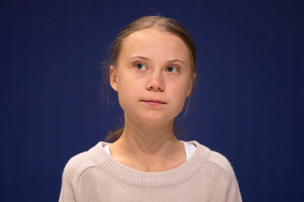 greta thunberg president joe biden99 - Greta Thunberg apareció en la portada de la revista Vogue (FOTOS)