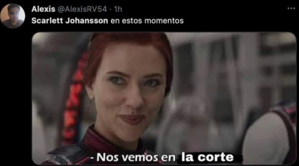 meme 5 - Los mejores MEMES que dejó la demanda de Scarlett Johansson a Disney