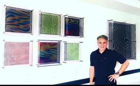 """image005 - Con su nueva línea de obras """"Distorted Cubes"""", el cinético Daniel Pérez Mora rompe fronteras"""
