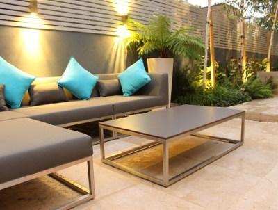 Jardín pequeño muebles