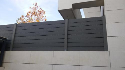 Cerramientos verticales - composite