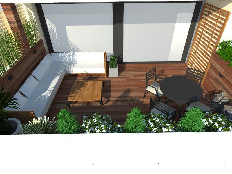 Proyecto terraza madera
