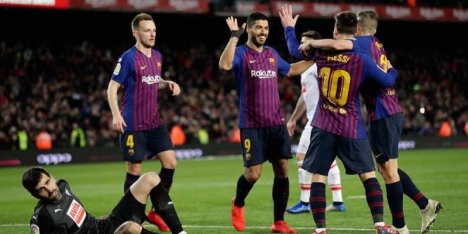 Barcelona golea y avanza en la Copa del Rey